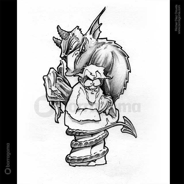 IMG IDIOMS DIABSkin Dibujar en otros idiomas / Ilustración de Expresiones Populares Trabajos Realizados Photoshop Ilustración en Bilbao Ilustración de Expresiones Populares Ilustración idiomas humor gráfico humor Expresiones en otros idiomas Expresiones