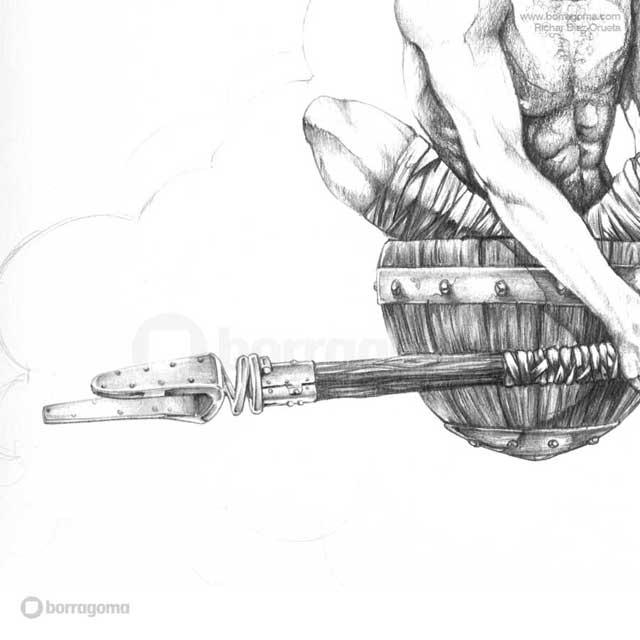 """IMG MITOLOGIKA Eate 2 """"Mitologika"""" Ilustración de Mitos y Leyendas Vascas Trabajos Realizados Mitos y Leyendas Mitologika Ilustración en Bilbao Ilustración"""