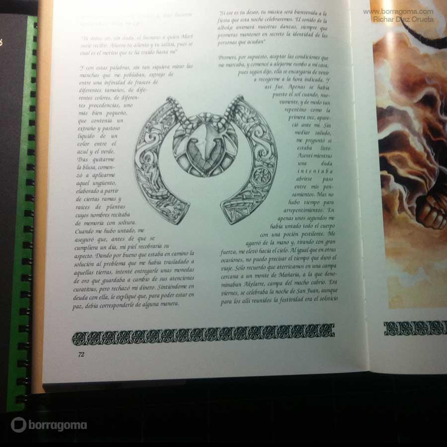 """IMG MITOLOGIKA FOTO900 Amuleto """"Mitologika"""" Ilustración de Mitos y Leyendas Vascas Trabajos Realizados Mitos y Leyendas Mitologika Ilustración en Bilbao Ilustración"""