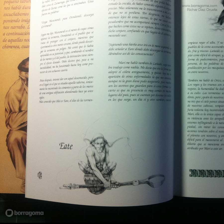 """IMG MITOLOGIKA FOTO900 Eate """"Mitologika"""" Ilustración de Mitos y Leyendas Vascas Trabajos Realizados Mitos y Leyendas Mitologika Ilustración en Bilbao Ilustración"""