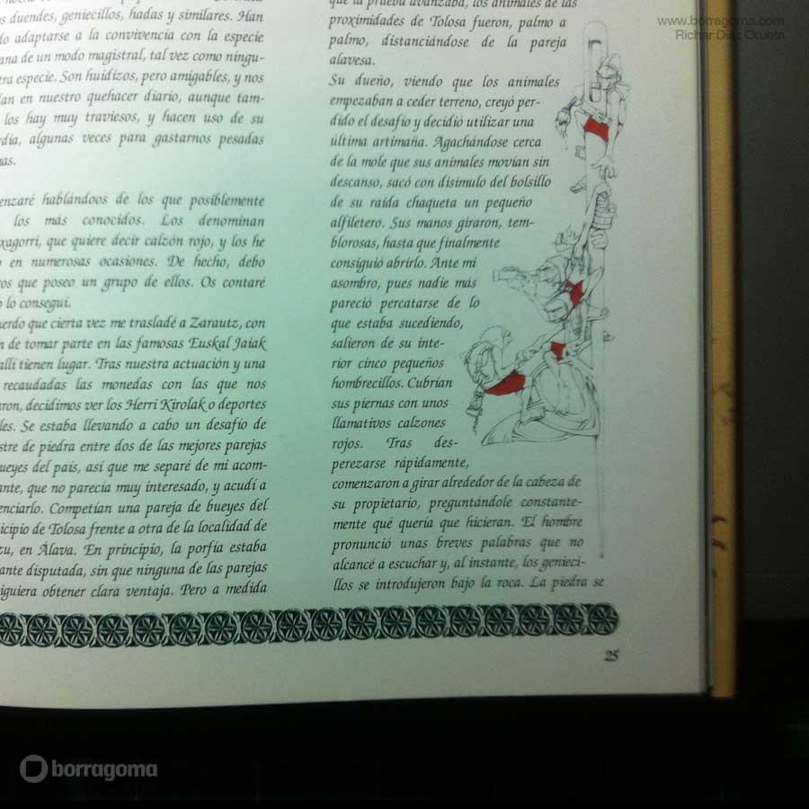 """IMG MITOLOGIKA FOTO900 GALTZAGORRI """"Mitologika"""" Ilustración de Mitos y Leyendas Vascas Trabajos Realizados Mitos y Leyendas Mitologika Ilustración en Bilbao Ilustración"""